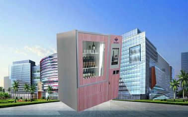 الصين CE FCC Winnsen Wine Vending Machine For Shopping Mall With Credit Card Reader Payment مصنع